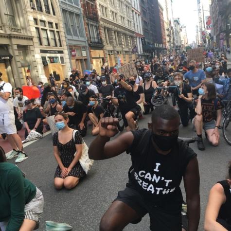 Vienen los saqueadores: sobre las protestas, los enfrentamientos y los vidrios rotos en Manhattan