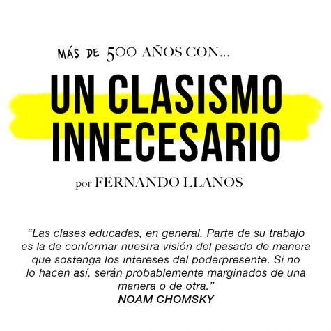 Un clasismo innecesario