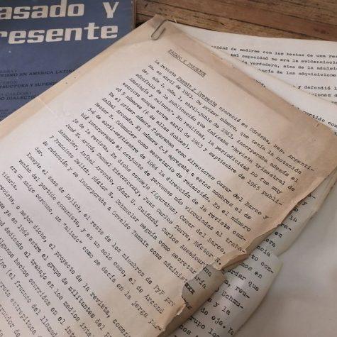 José Aricó: Pasado y Presente