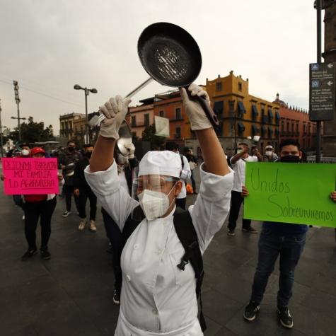#Abriromorir: las contradicciones en las protestas del empresariado restaurantero de la CDMX